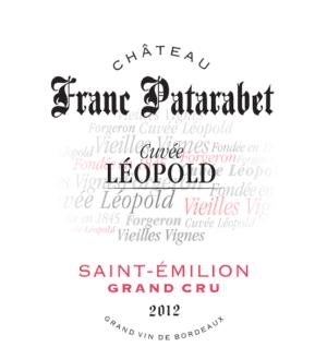 Chateau Franc Patarabet Saint Emilion Grand Cru Cuvee Leopold 2012